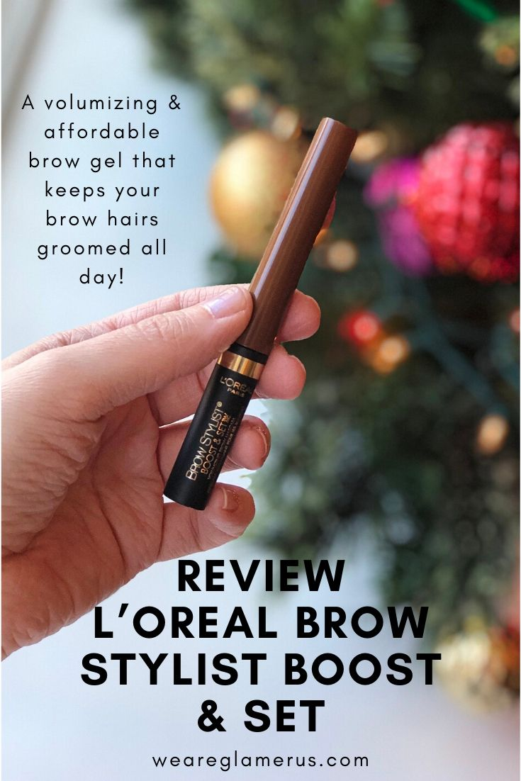 Check out my latest review on the L'Oreal Brow Stylist Boost & Set, a brow gel that promises to bulk, define and groom your brows all day!
