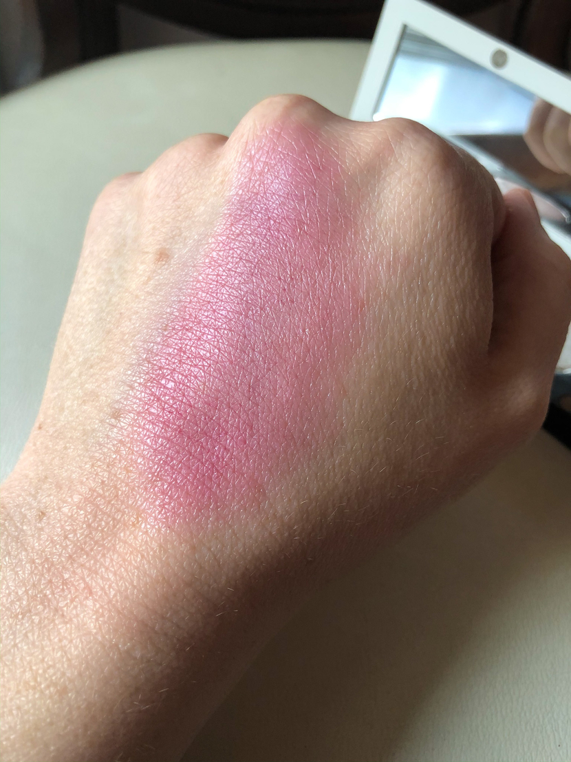 The Organic Skin Co Cheeky Lips in Velvet combined with In The Spotlight Luminizer in Lunar