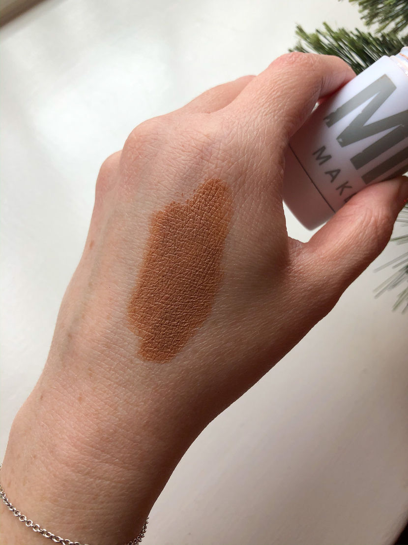 Swatch of the shade Baked on the back of my hand