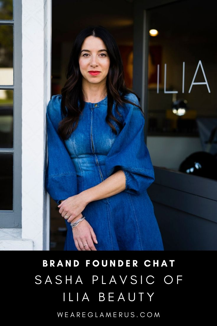 Check out my exclusive interview with Sasha Plavsic of Ilia Beauty in today's post!