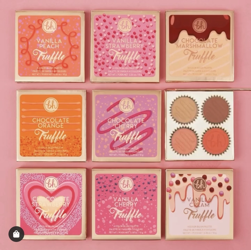 BH Cosmetics Truffle Blush Collection