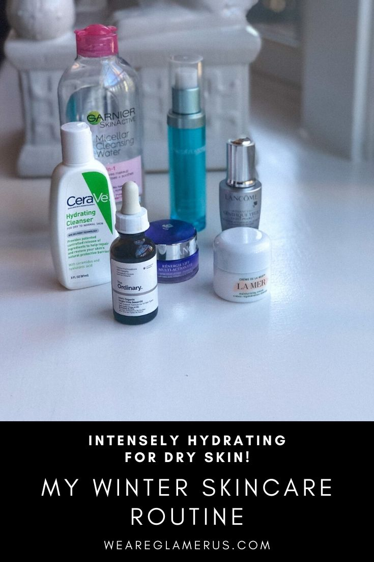 I take you through my winter skincare routine in today's post!