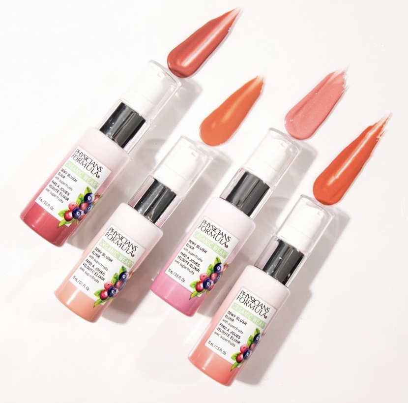 new drugstore beauty launches - Physician's Formula Organic Wear Dewy Blush Elixir