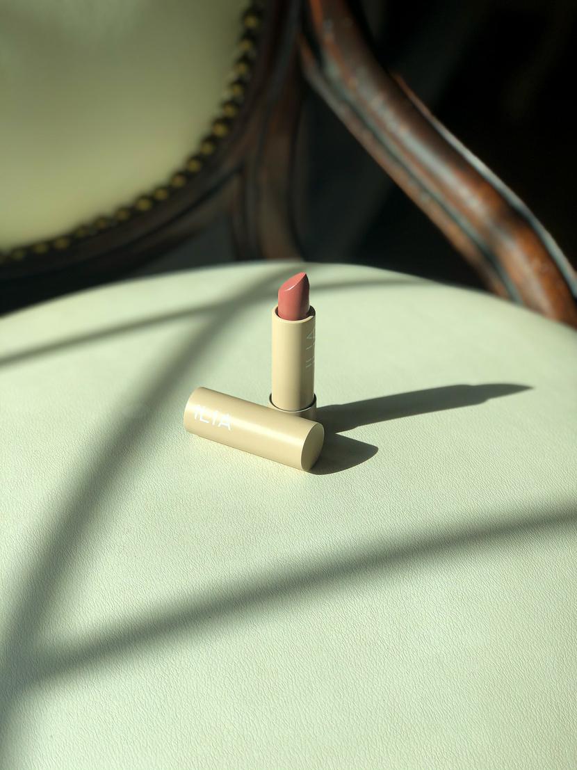 Ilia Beauty Color Block Lipstick in Amberlight
