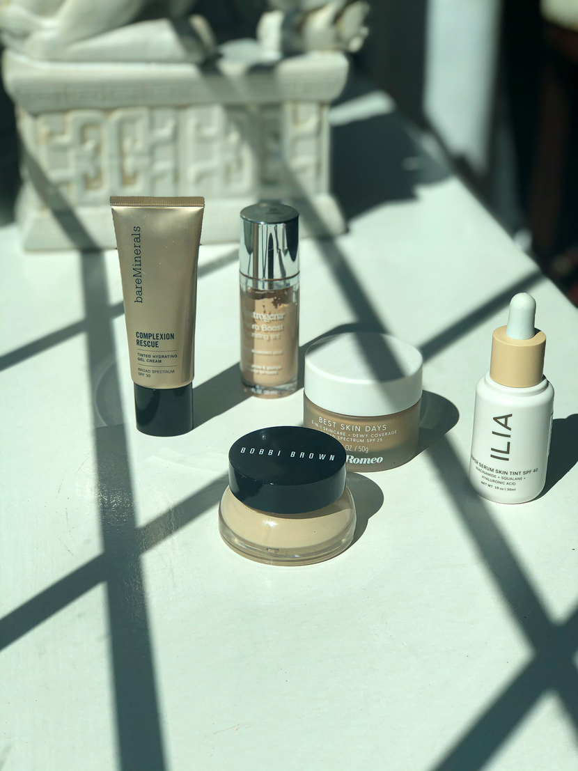 My current foundation collection