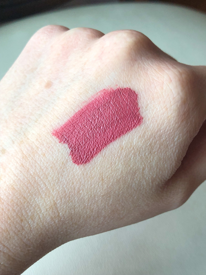 Swatch of Posie K. Liquid Lipstick