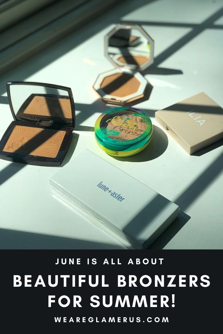 June's content focus is all about beautiful bronzers for summer including some beauts from Fenty, Lancôme, Physician's Formula, Ilia and Lune + Aster