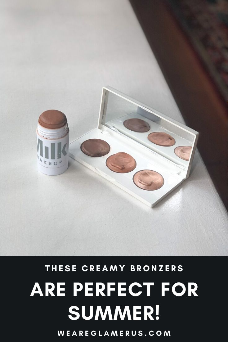 These are my recommendations for summertime creamy bronzers!