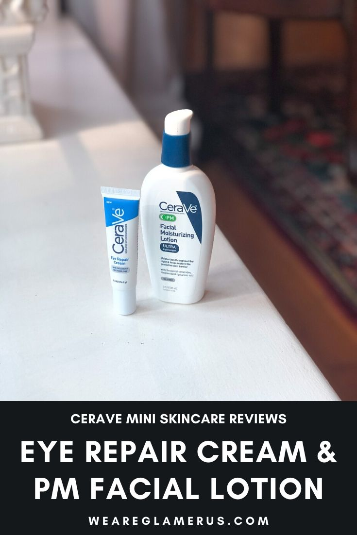 I'm giving you two mini skincare reviews in today's post, both from the hero drugstore skincare brand CeraVe!