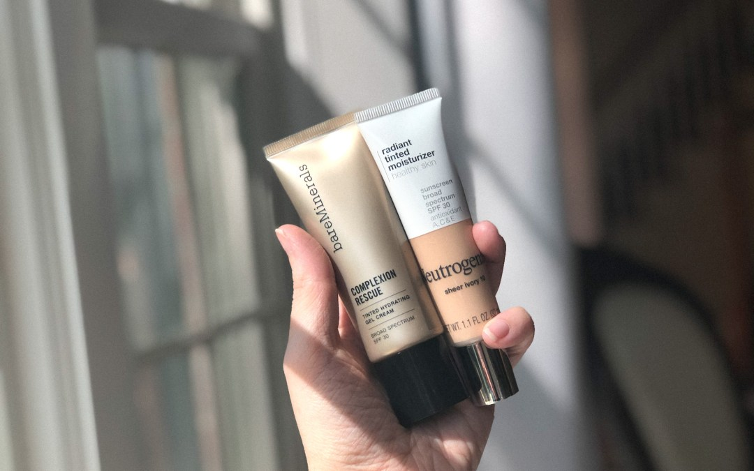Are They Dupes? Neutrogena Radiant Tinted Moisturizer vs. Bare Minerals Complexion Rescue