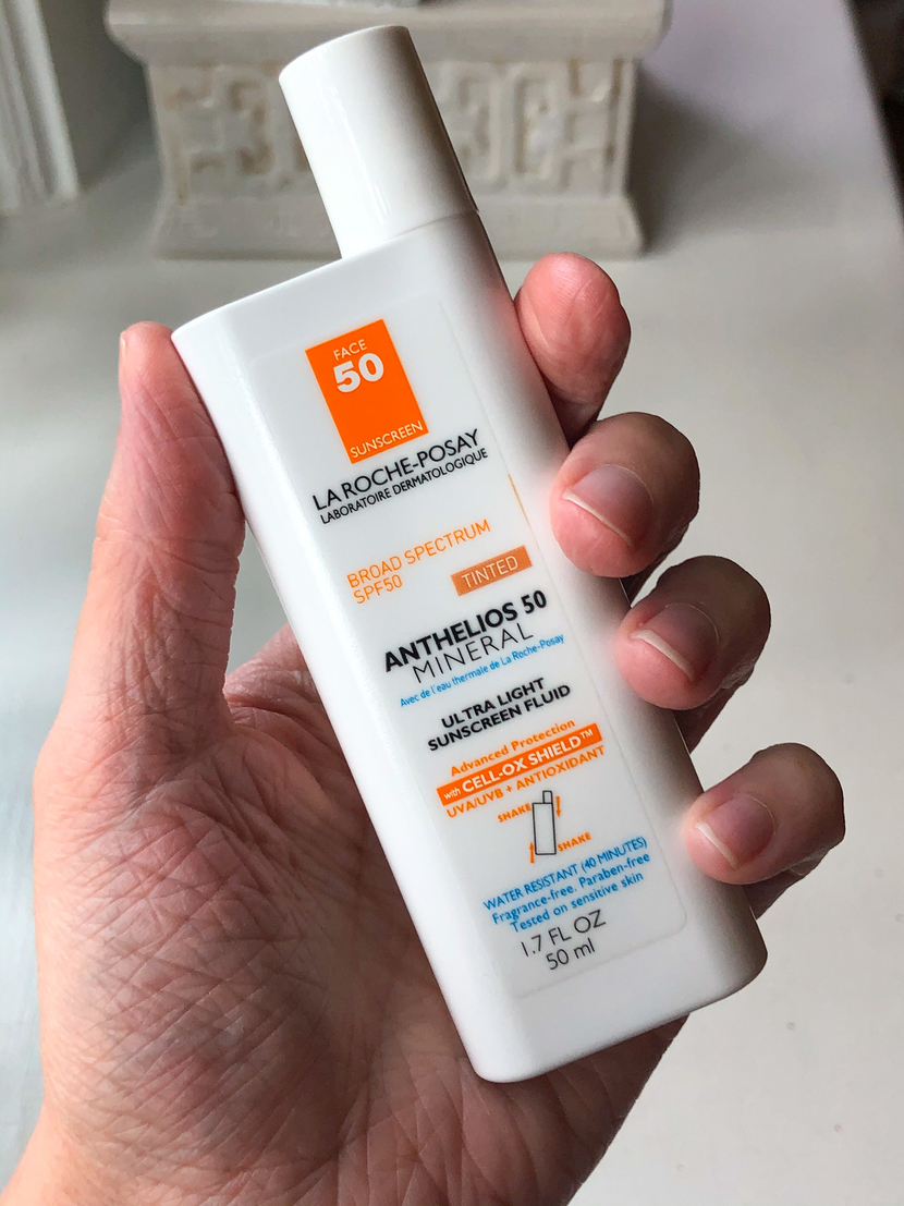 La Roche Posay Anthelios Mineral Tinted Sunscreen for Face SPF 50