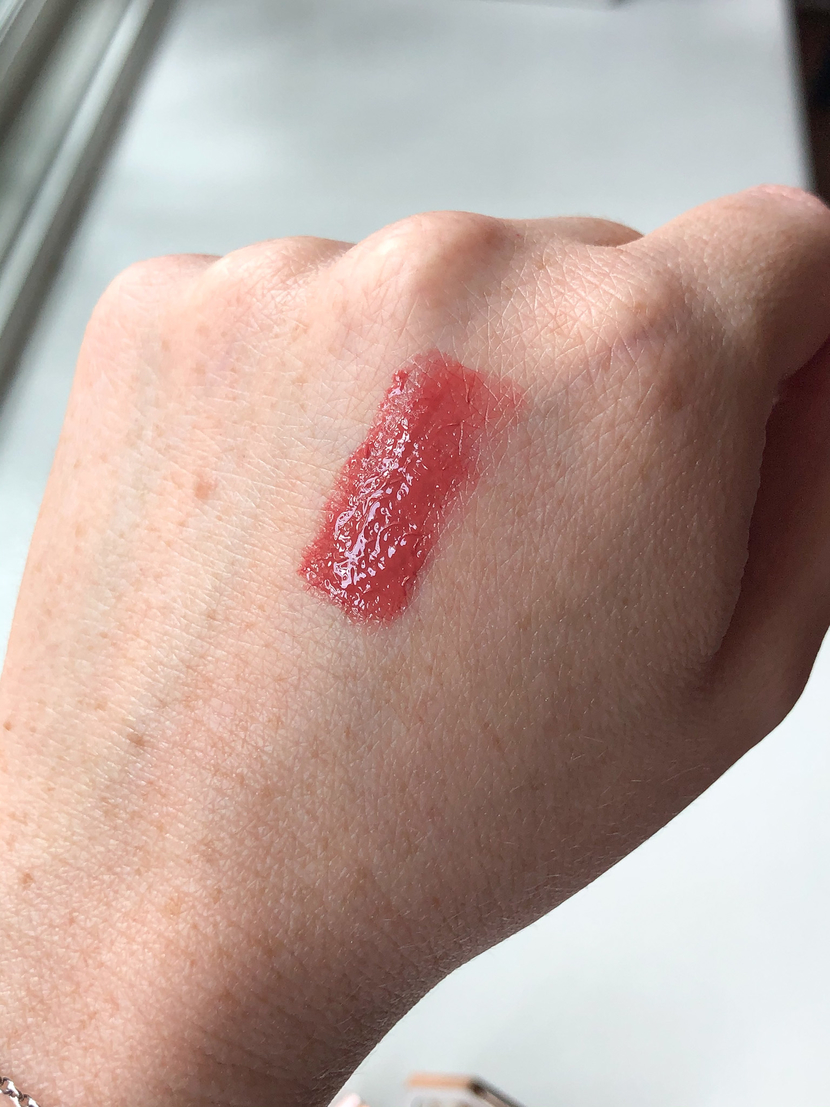 Swatch of Rose Romance cream blush
