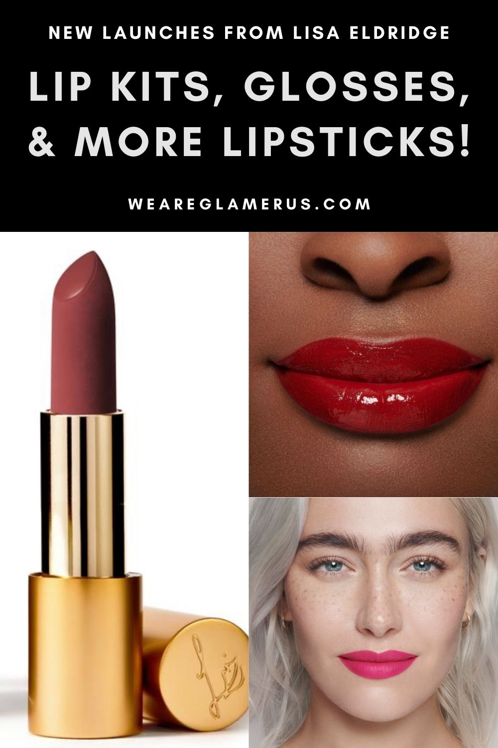 MUA extraordinaire and entrepreneur Lisa Eldridge has launched her new October collection, complete with 4 new shades of her coveted True Velvet Lipsticks, lip kits complete with her first lip liner formula, and a brand-new lip gloss!