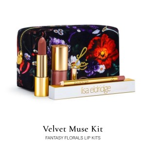 New launches from Lisa Eldridge are live, including this Velvet Muse Lip Kit