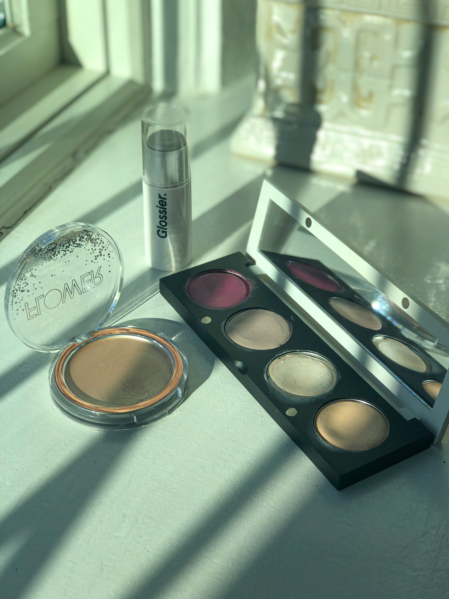 My glossy highlighter edit featuring Glossier, Flower Beauty & The Organic Skin Co