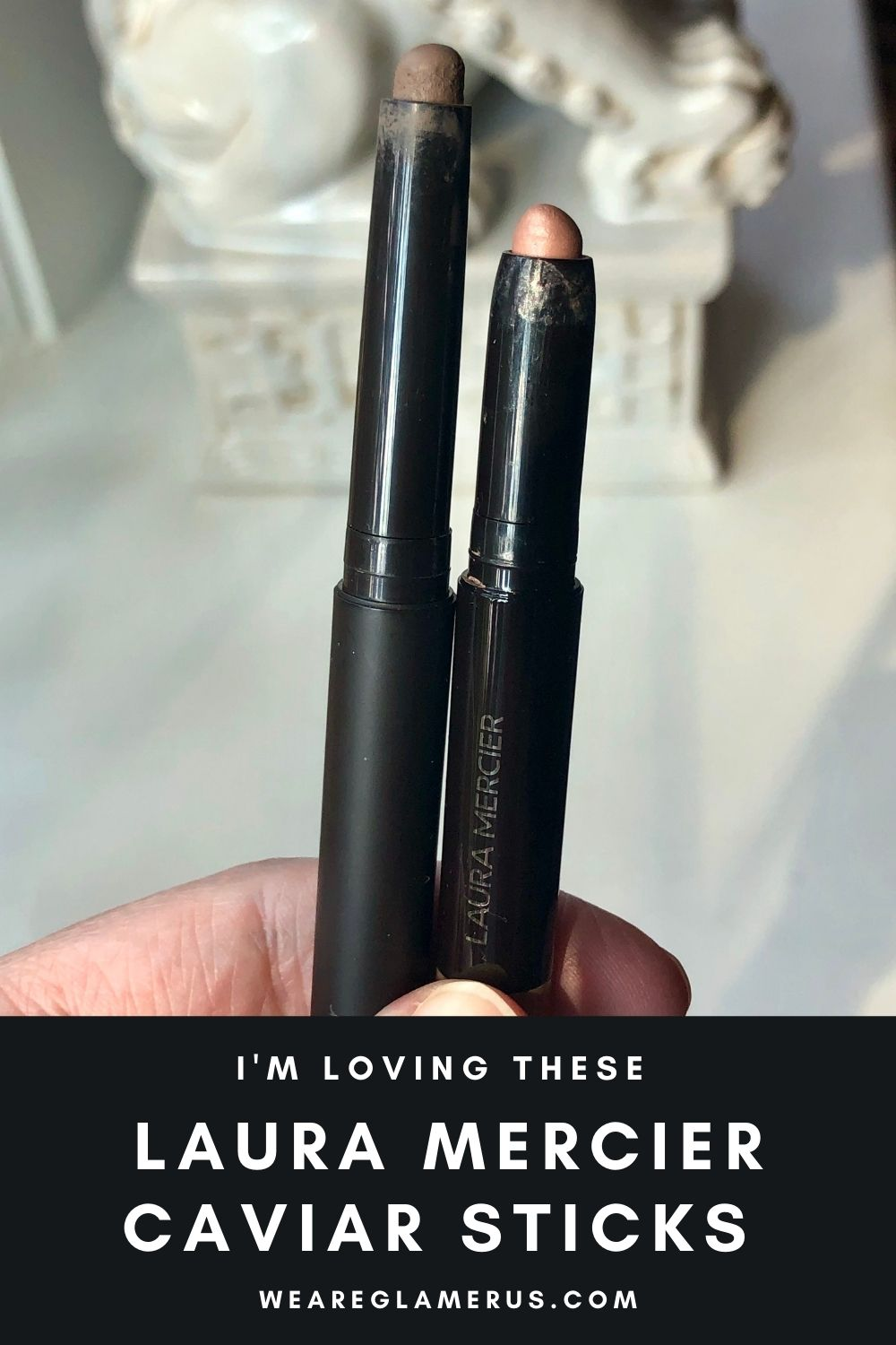 I'm sharing my favorite shades from the Laura Mercier Caviar Stick line in today's post!