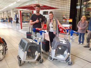 Vluchtbegeleiders vluchtbegeleiding vrijwilligerswerk vliegen lesbos mytilini athene transavia tui