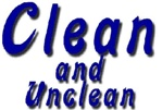 Unclean and clean foods