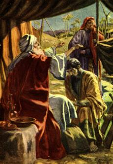 Jacob received the blessing, Genesis 27