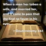 Bill of divorcement, Deuteronomy 24 1-4, divorcement bill, Yasher 21