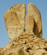 Rock at Horeb