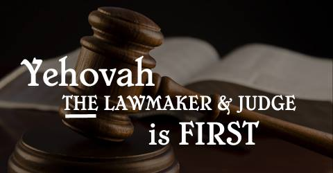 lawmaker and judge, Deuteronomy 6 4, Genesis 3 22, the lord is one, shamah, hear o Israel,
