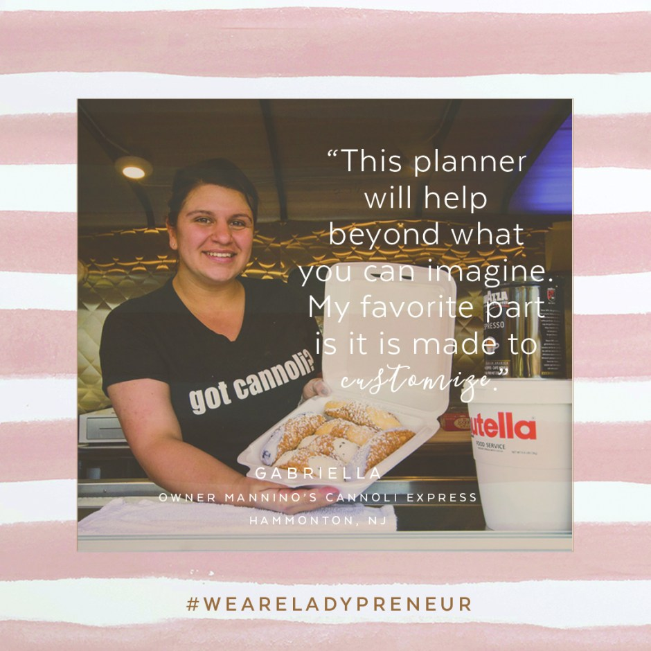 cannoli queen, hammonton nj, food trucks, roman + fields, entrepreneur, mom boss, nutella, manninos pizzeria, downtown hammonton, downtown haddonfield, life organizer, day planner, erin condren, day designer