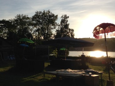 Sunset at the ´Haus am See´