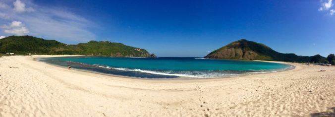 Lonely beach near Kuta (Lombok)