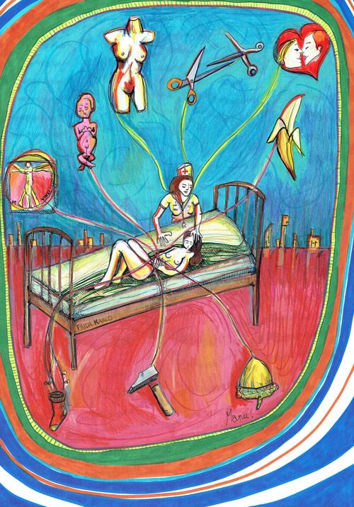 Comportement Lesbien, dessin de Manu
