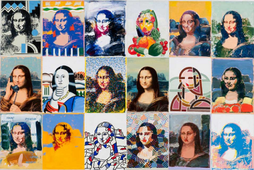La Mona Lisa de Giovanopoulos ou la beauté démultipliée