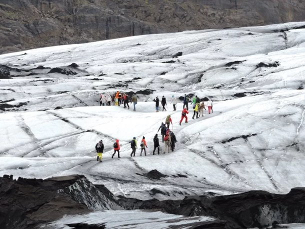 Trekking ghiacciaio