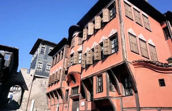 Il centro storico di Plovdiv