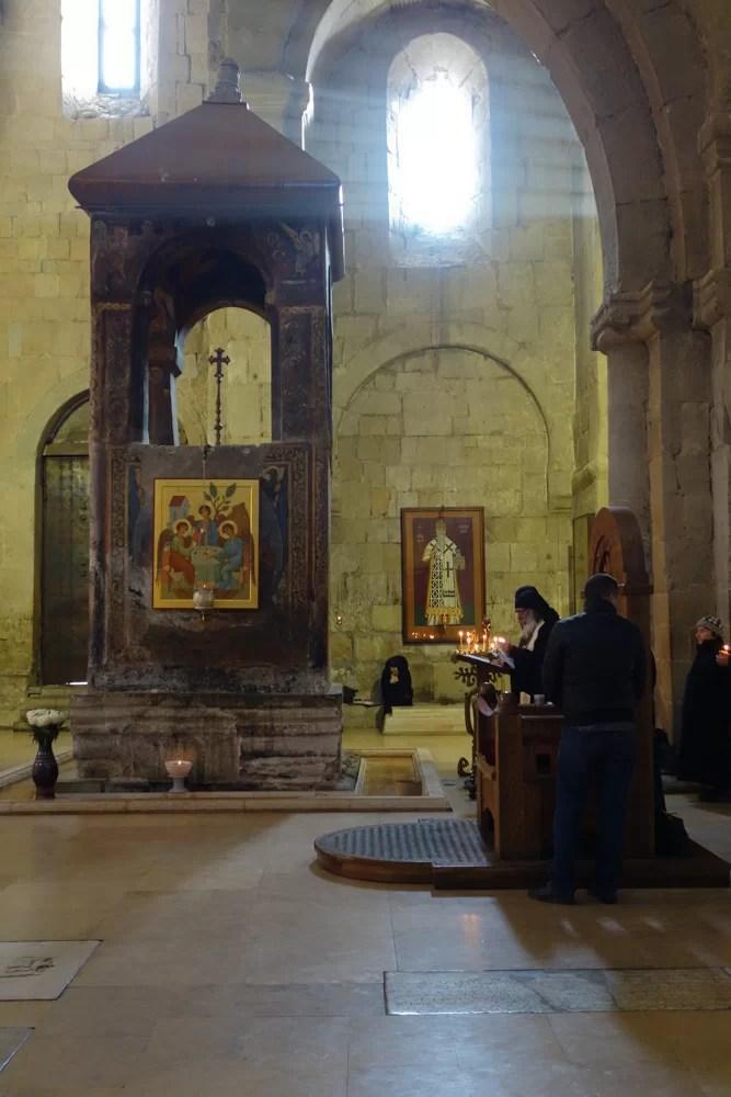 La cattedrale di Svetitskhoveli è tutt'ora in uso
