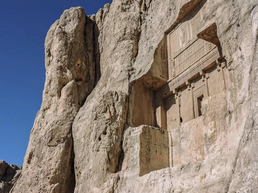Le tombe a Naqsh-e Rostam and Naqsh-e Rajab