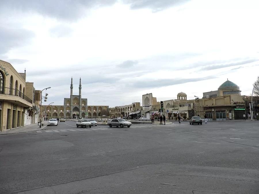 Veduta dell'Amir Chakhmaq Mosque Complex