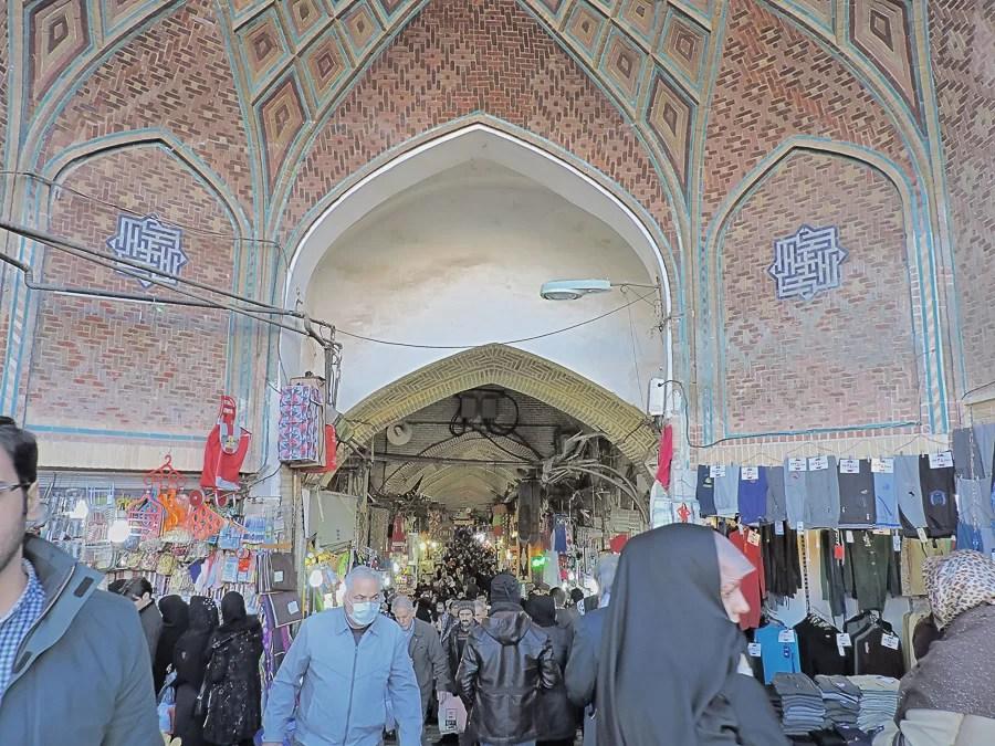 Bazar-e-Bozorg a Teheran