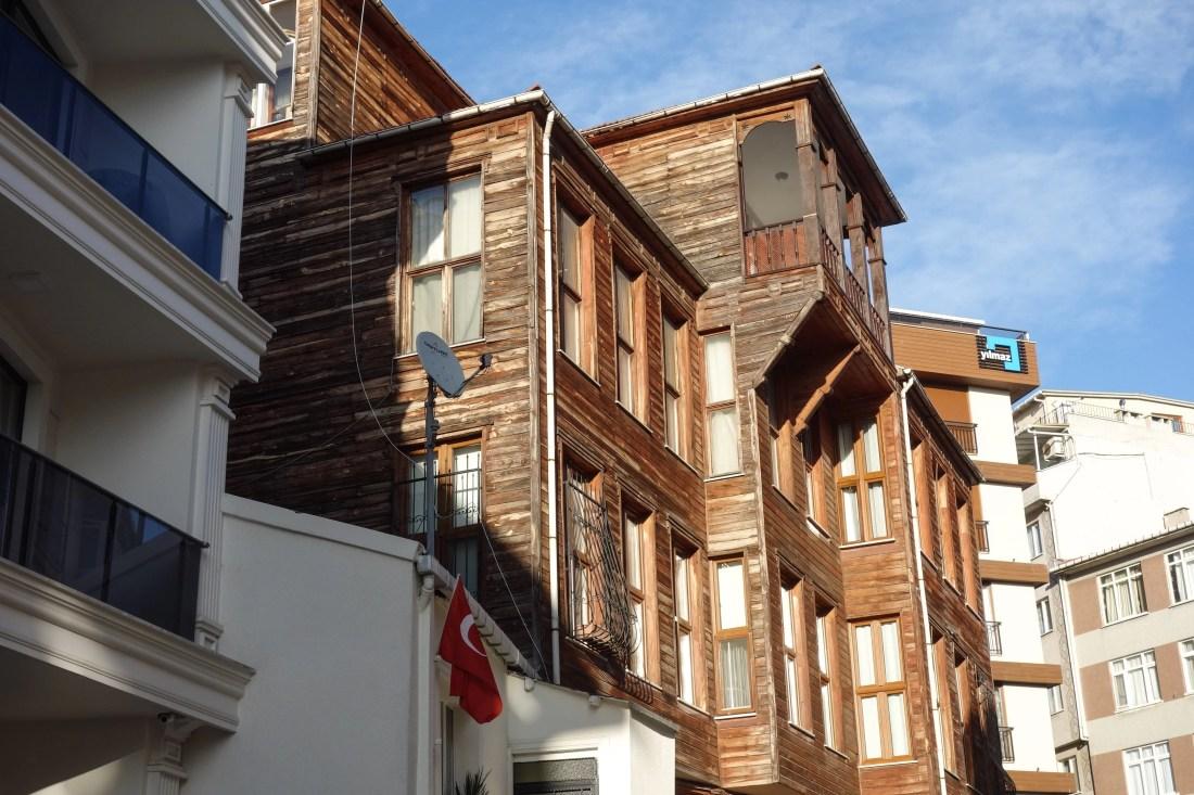 Edifici storici in fase di restauro a Uskundar
