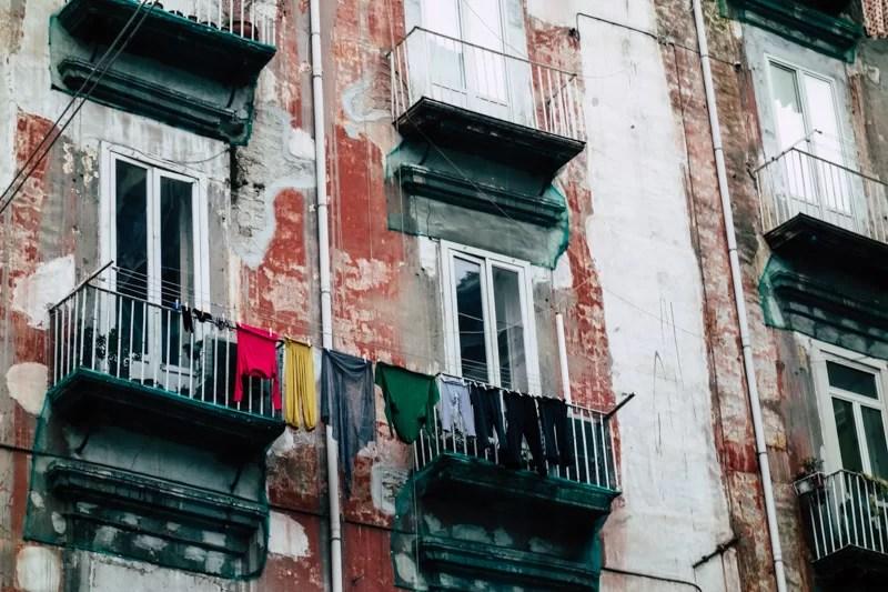 I palazzi di Napoli