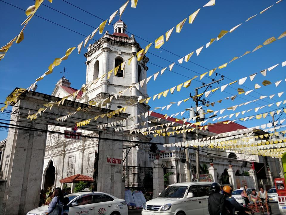 La chiesa del Santo Nino a Cebu