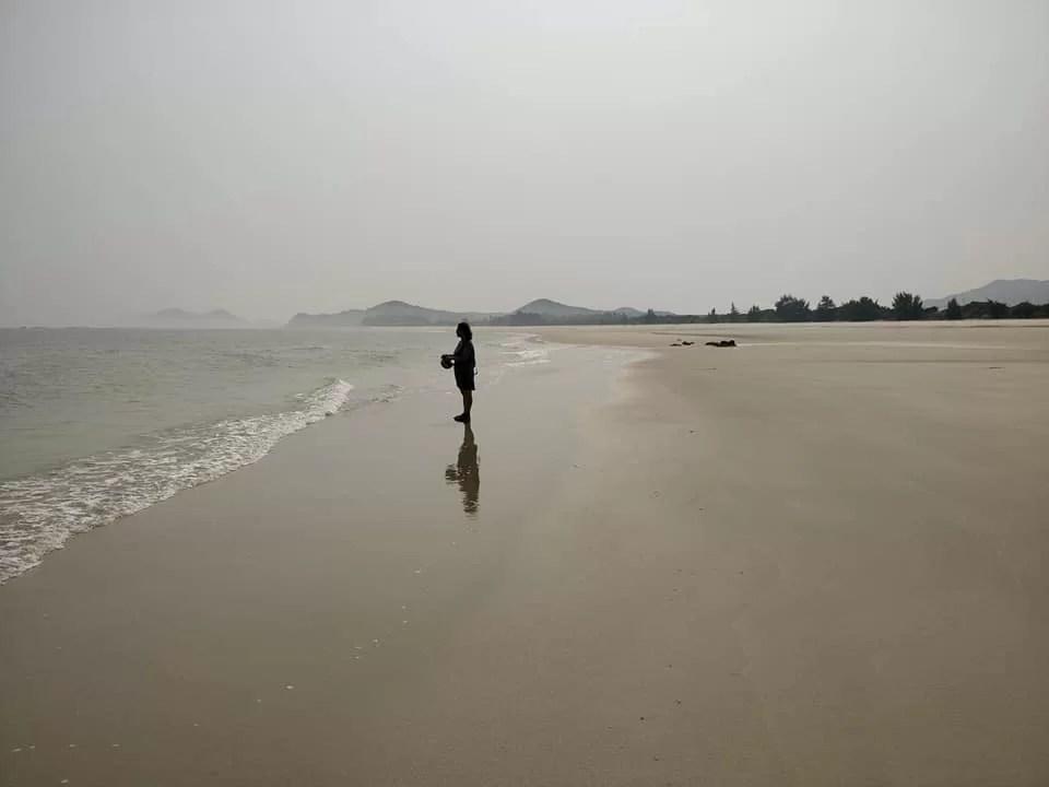 spiagge dell'isola di Quan Lan