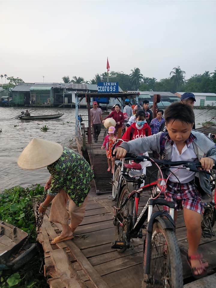 nei pressi del mercato di Phong Dien a Can Tho