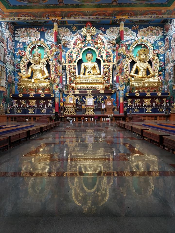 Nandroling tibetan monastery: nel coorg ci sono comunità tibetane