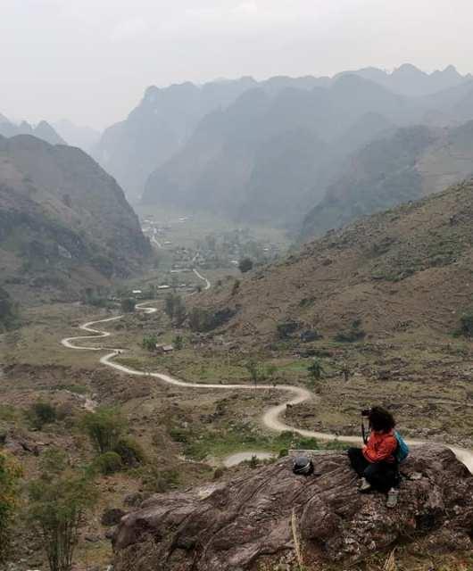 Nel mezzo di Ha Giang in Vietnam