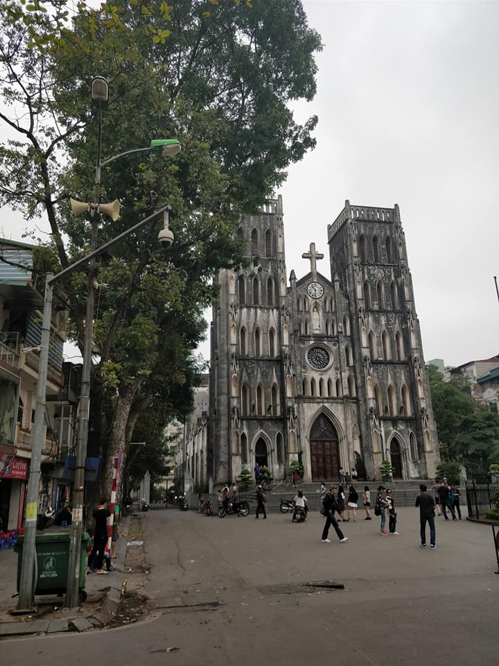 cattedrale di Hanoi in Vietnam