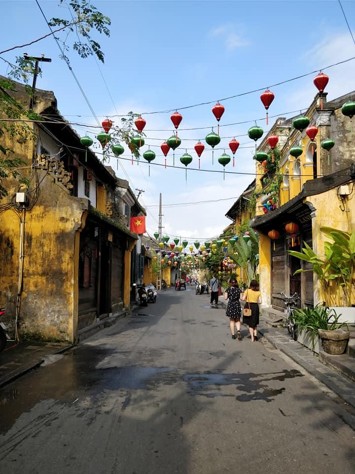 Le strade di Hoi An in Vietnam