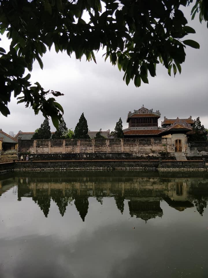 All'interno della cittadella purpurea di Hue (l'equivalente della città proibita di Pechino in Vietnam)