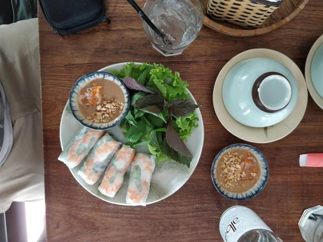 I Gui Cuon del Quán Bụi Vietnamese Bistro di Ho Chi Minh