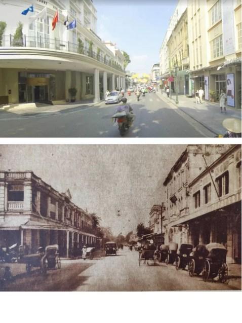 La via Paolo Berth (oggi Tràng Tiền)