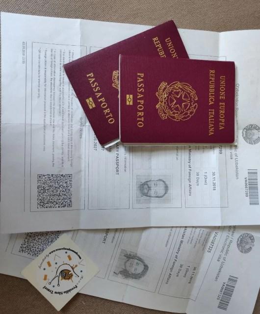 come si ottiene il visto elettronico Uzbekistan (e-visa)